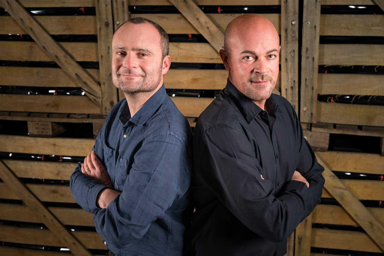 Portrait frères royer